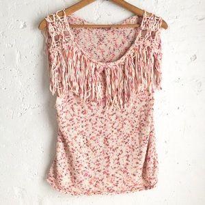 Calypso St. Barth multicolor knit sleeveless top